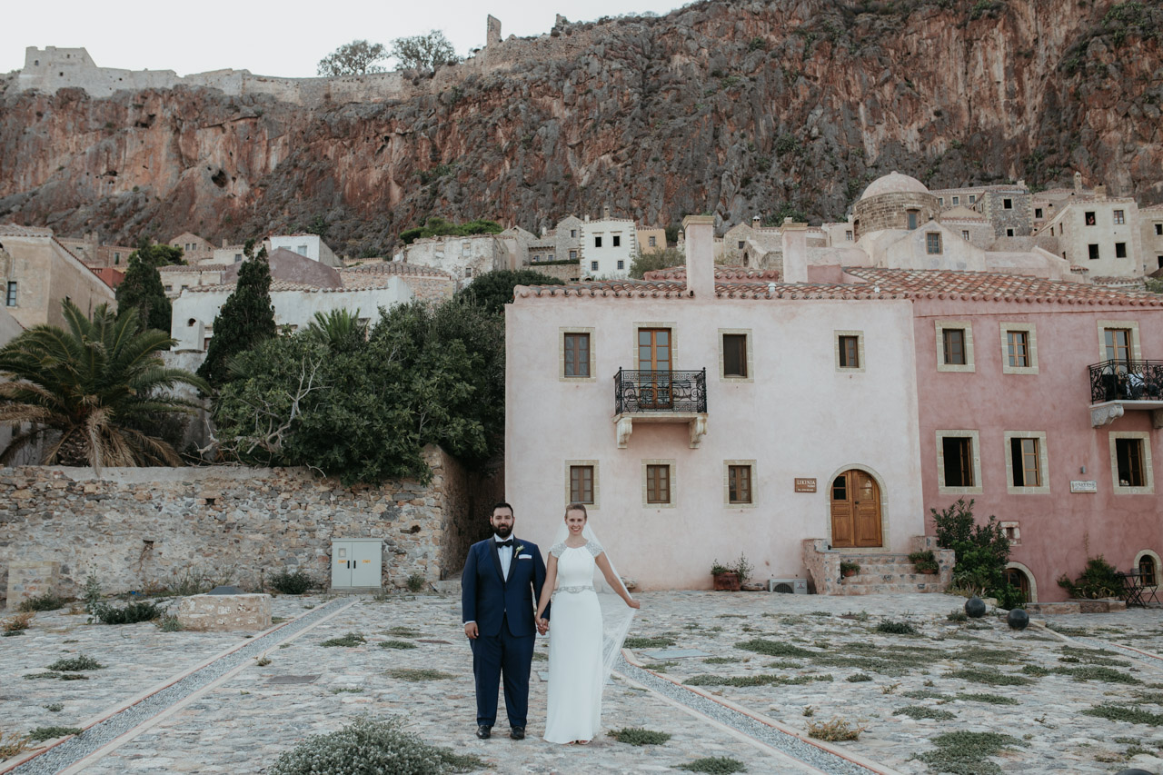 Monemvasia Elegant Wedding