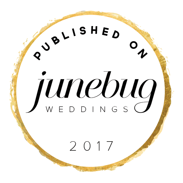 Published on Junebug Weddings – Wedding Style Blog, Wedding Photography Blog and Real Wedding Inspiration