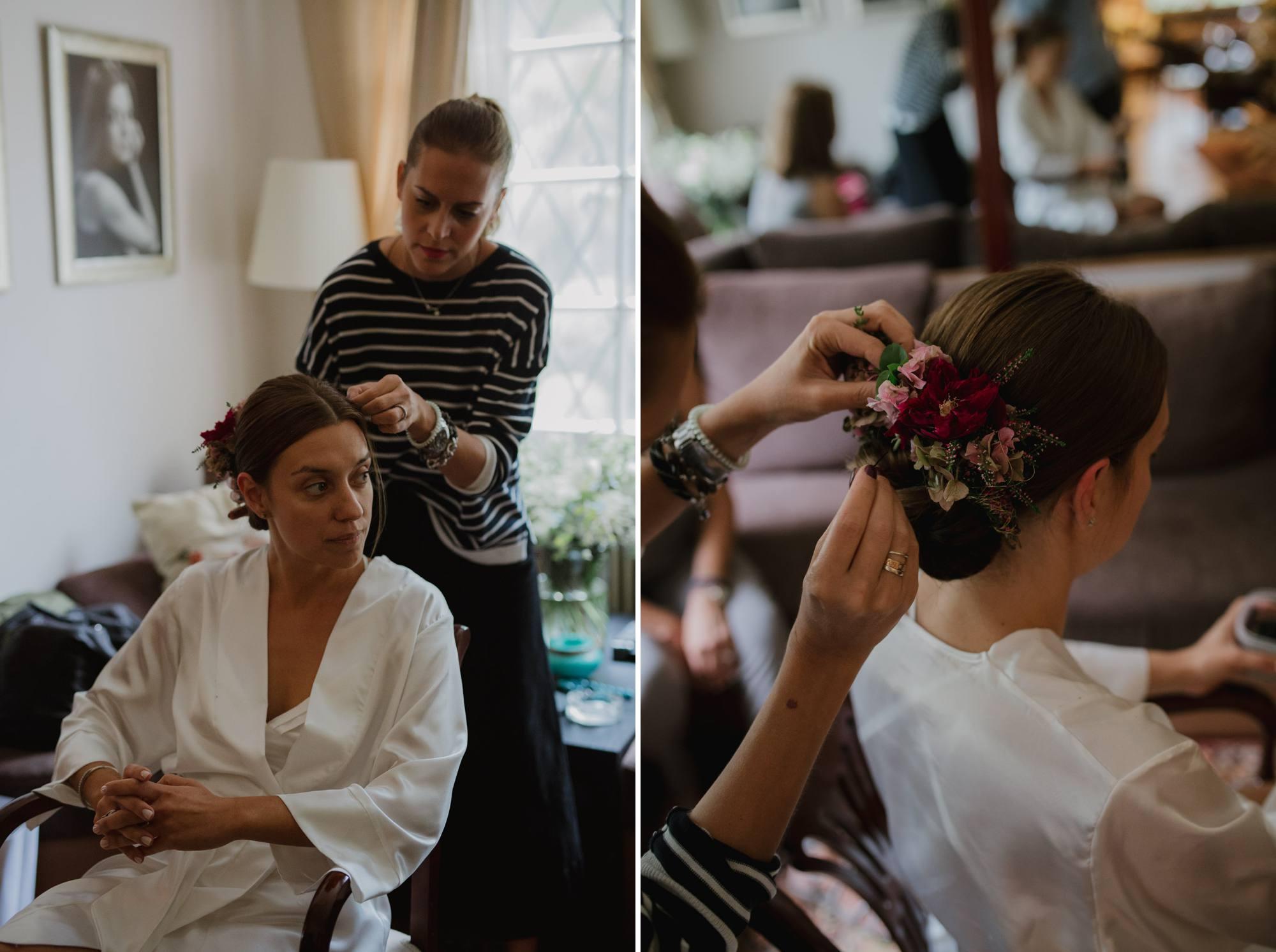 wedding photographer greece bride getting ready