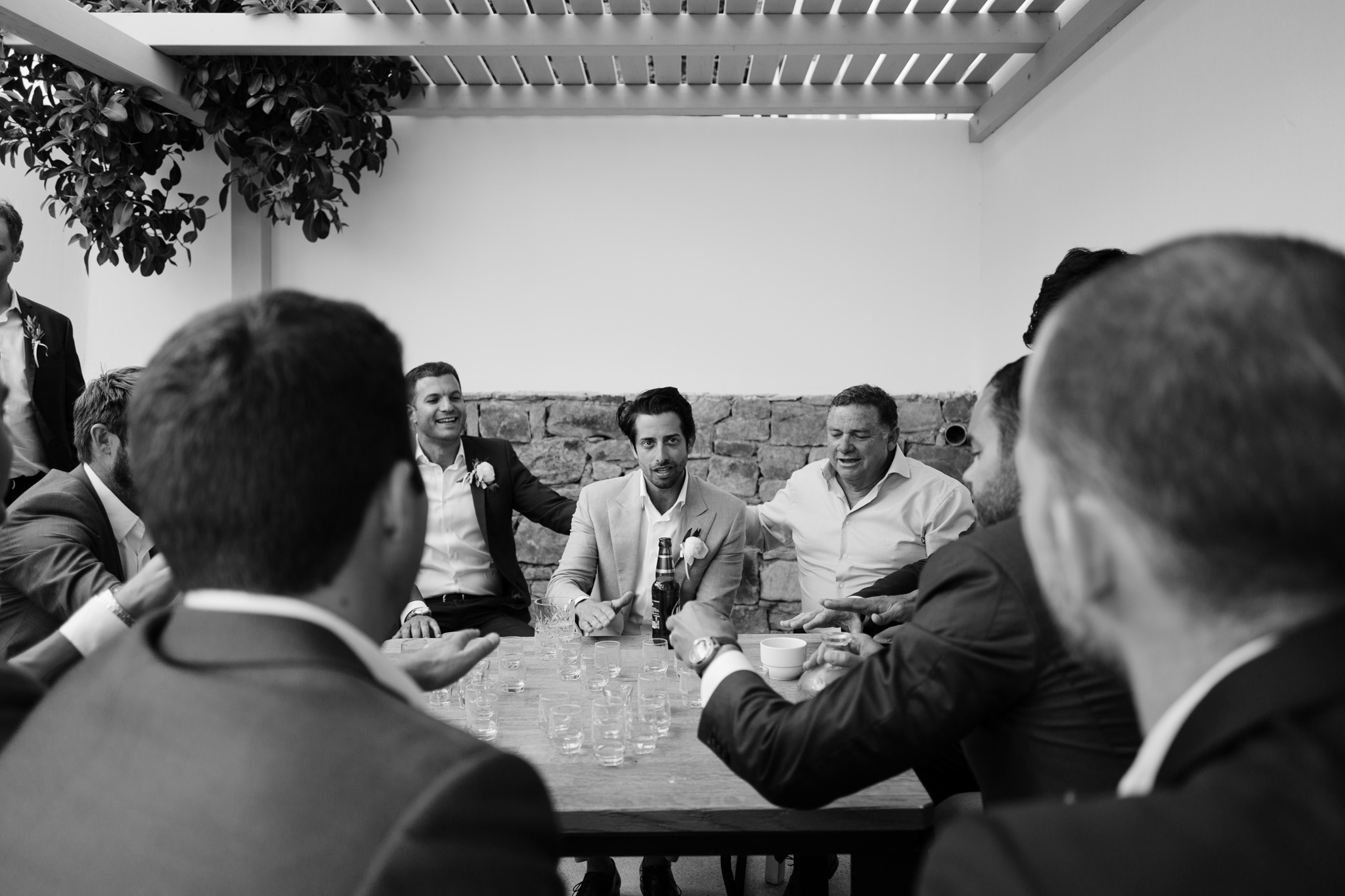 Mykonos Wedding Photographer Jewish Groom