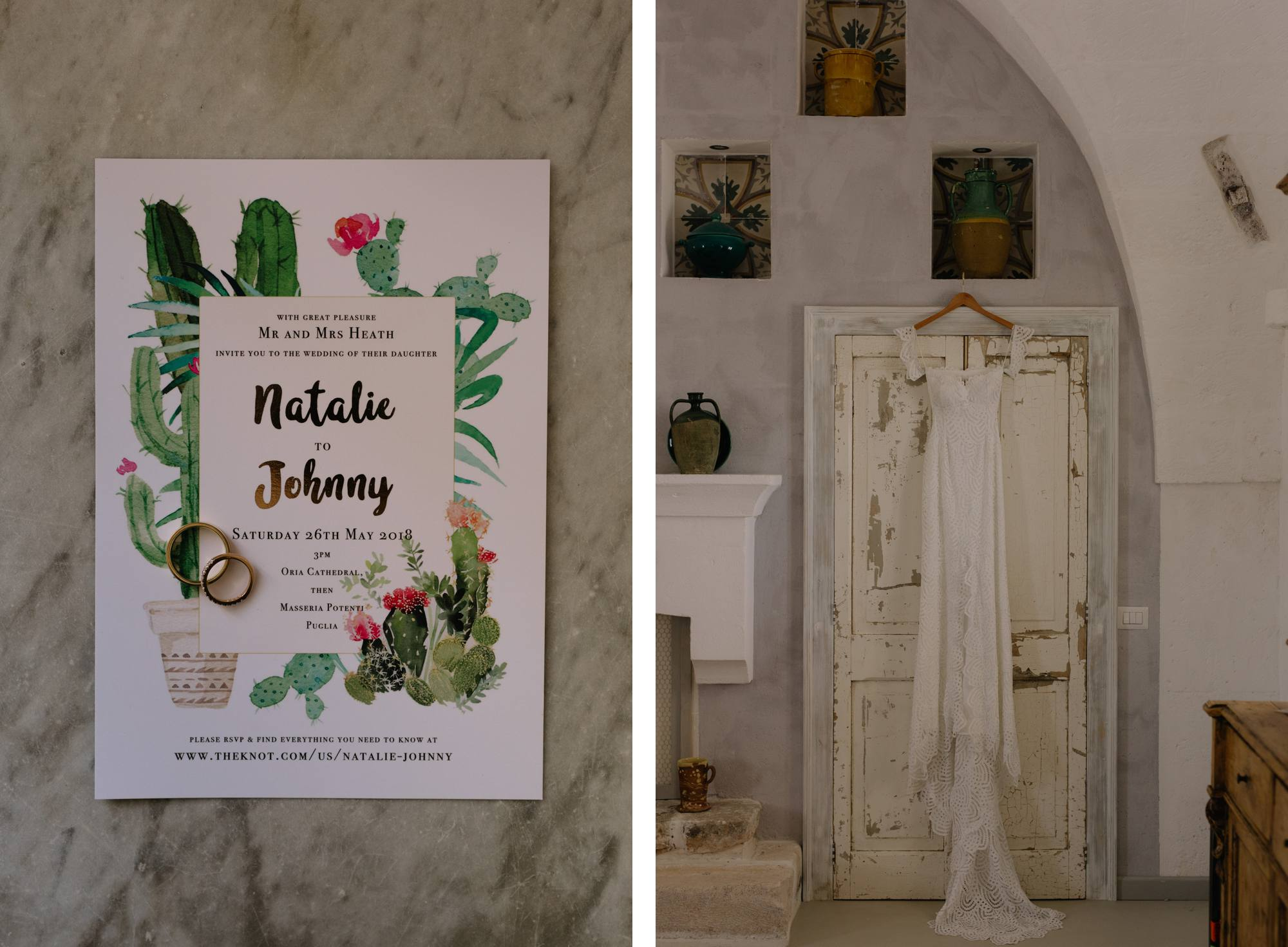 Puglia Wedding Photographer Masseria Potenti Grace Loves Lace Bride