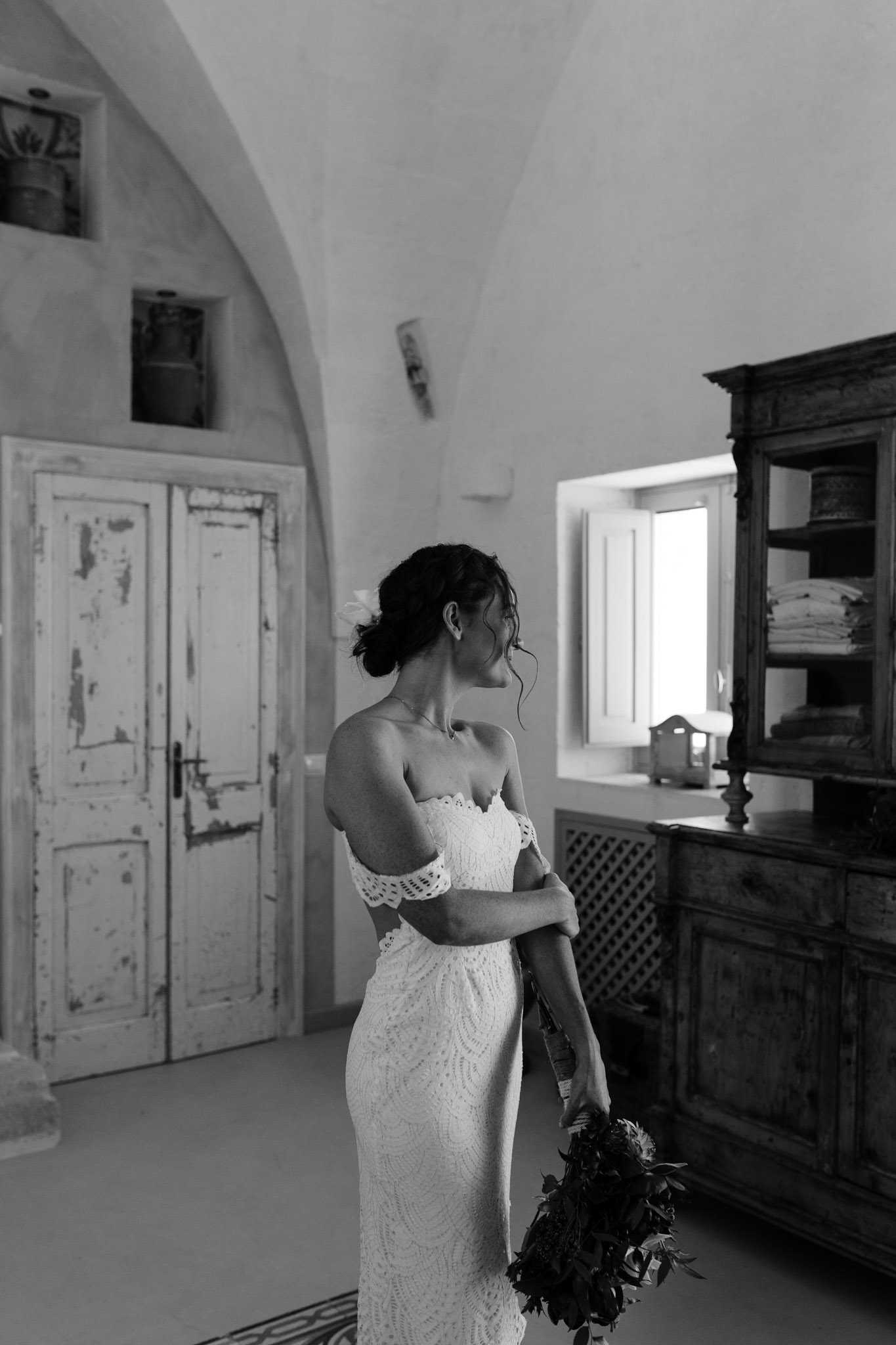 Puglia Wedding Photographer Masseria Potenti Grace Loves Lace Dress